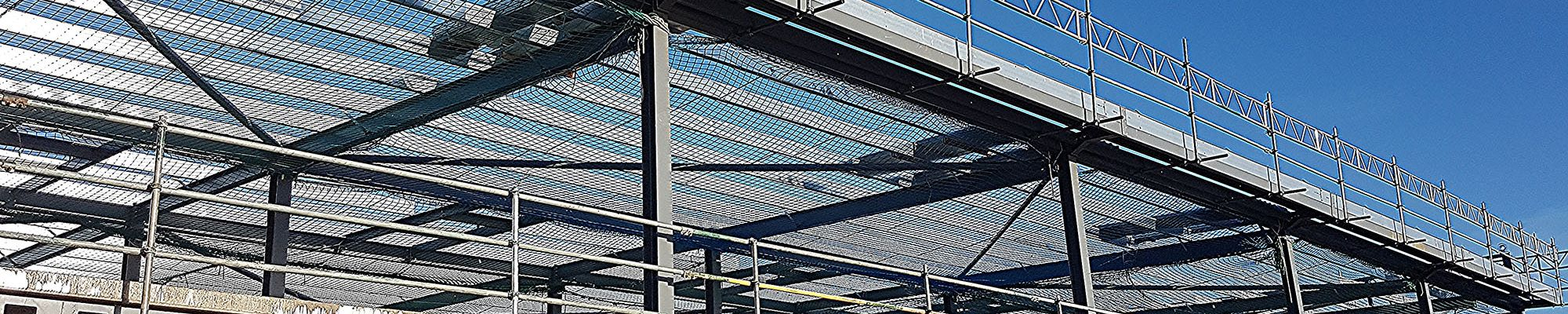 Scaffolding Safety Netting